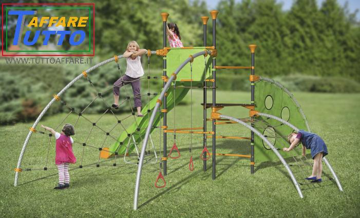 Area giochi per bambini hero kit giardino playground