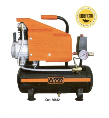 Compressore Vinco 6 litri 1HP
