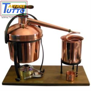 Distillatore in rame 2,5 lt