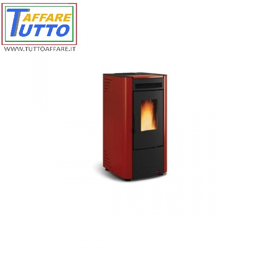 STUFA A PELLET LA NORDICA EXTRAFLAME KETTY BORDEAUX